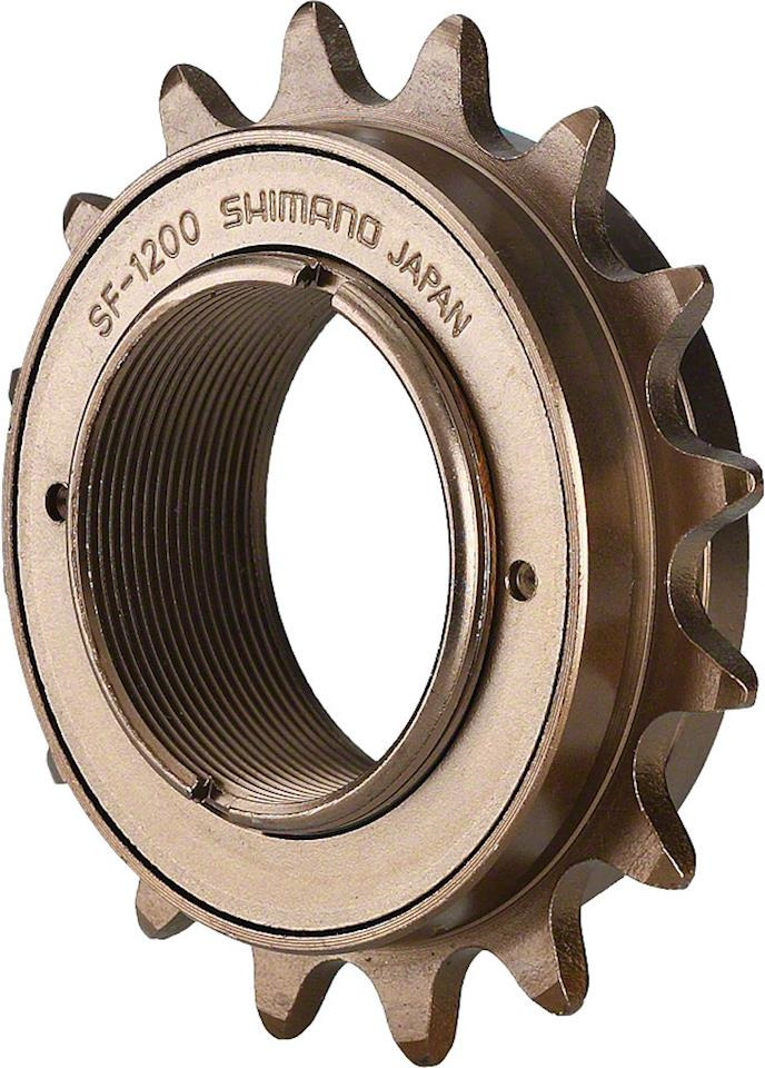 Трещотка для велосипеда Shimano SF-1200, 16T, ISF120016, коричневый