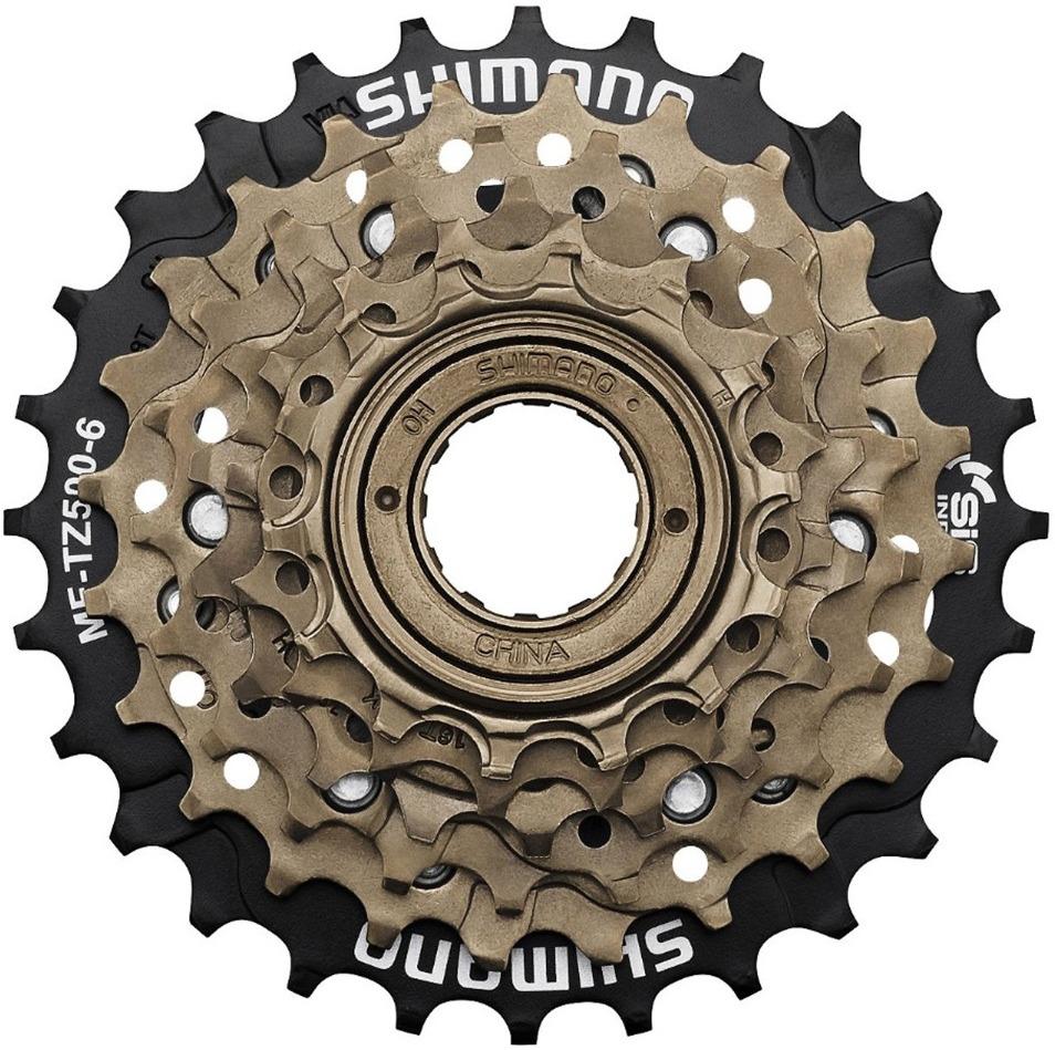 Трещотка для велосипеда Shimano SF-1200, 20T, ISF120020, коричневый
