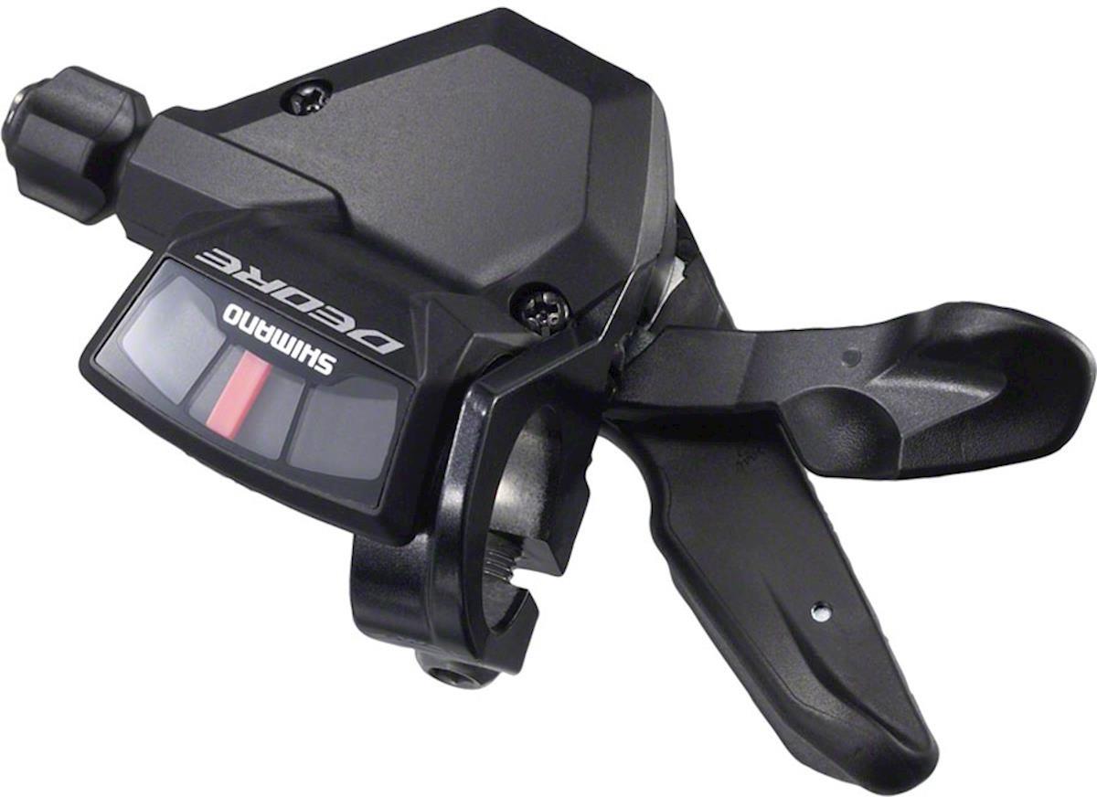 Шифтер Shimano Deore, M590, правый, 9 скоростей, трос 2050 мм, ISLM590RA