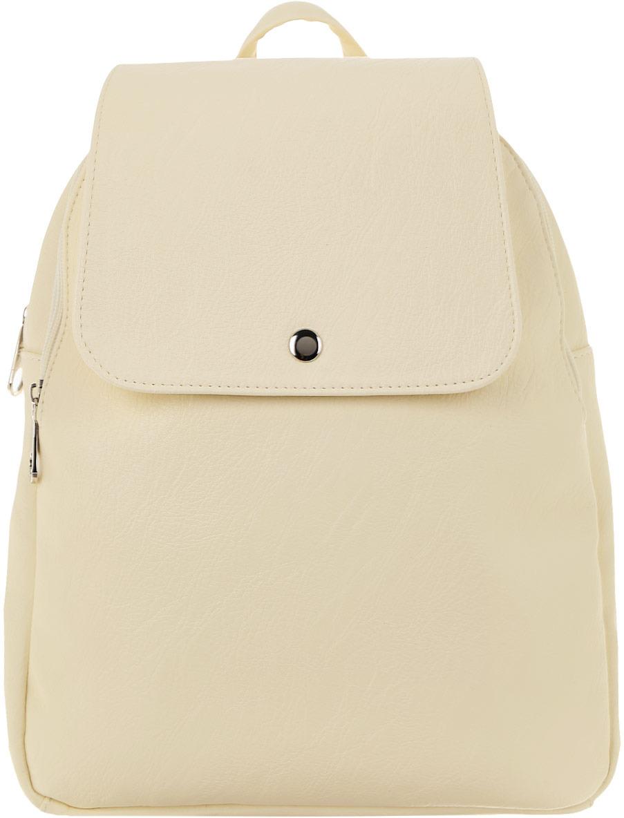 Рюкзак женский Медведково цвет: молочный. 18с3328-к14 рюкзак женский медведково цвет бежевый 16с3880 к14