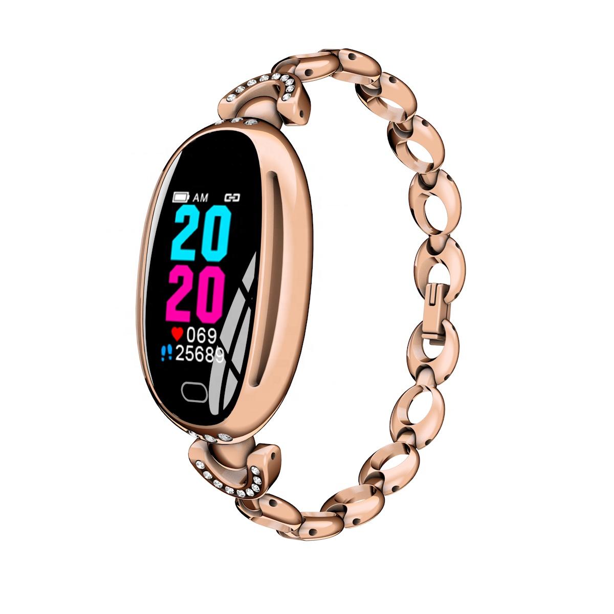 Фитнес-браслет ZDK E68 Gold, золотой фитнес браслет xride s1 с мониторингом сердечного ритма orange