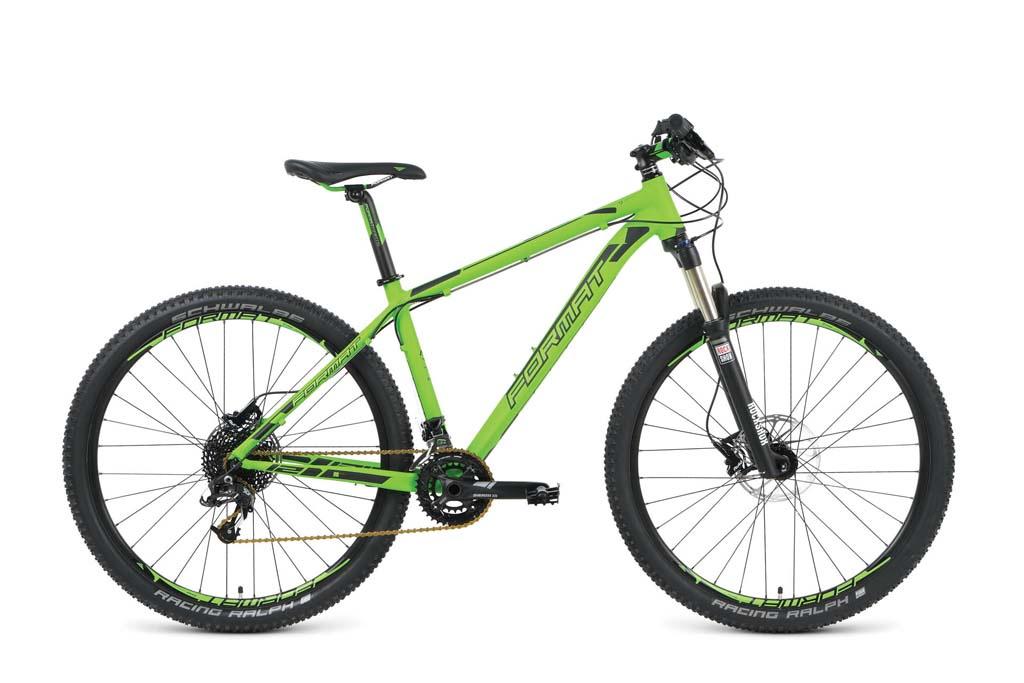 Велосипед Format RBKM9M69D001, зеленый велосипед format 1212 elite 27 2016
