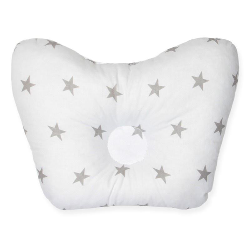 Детская подушка  подушка для новорожденных бабочка, белый
