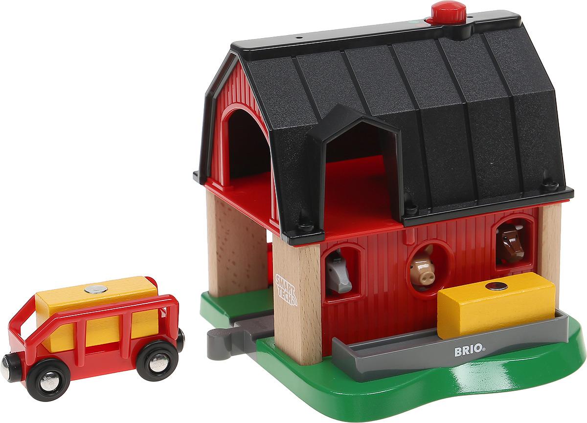 Игровой набор Brio Smart Tech Ферма, 33936 игровой набор brio smart tech железнодорожный набор 33873 17 элементов
