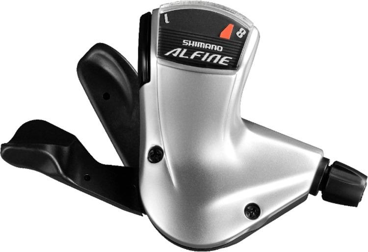 Шифтер Shimano Alfine S7008, 8 скоростей, трос с оплеткой, для СJ-S7000-8, ESLS70082100LS3