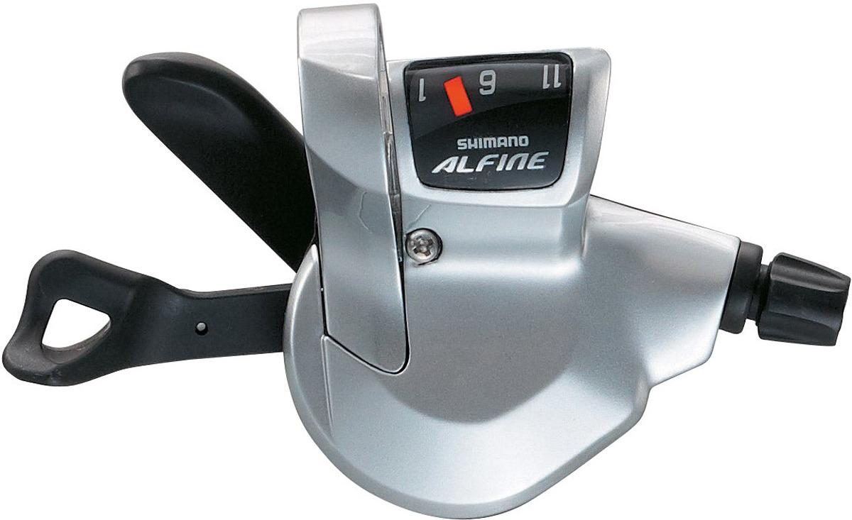 Шифтер Shimano Alfine, S700, 11 скоростей, трос с оплеткой, для СJ-S700, ISLS700210LS