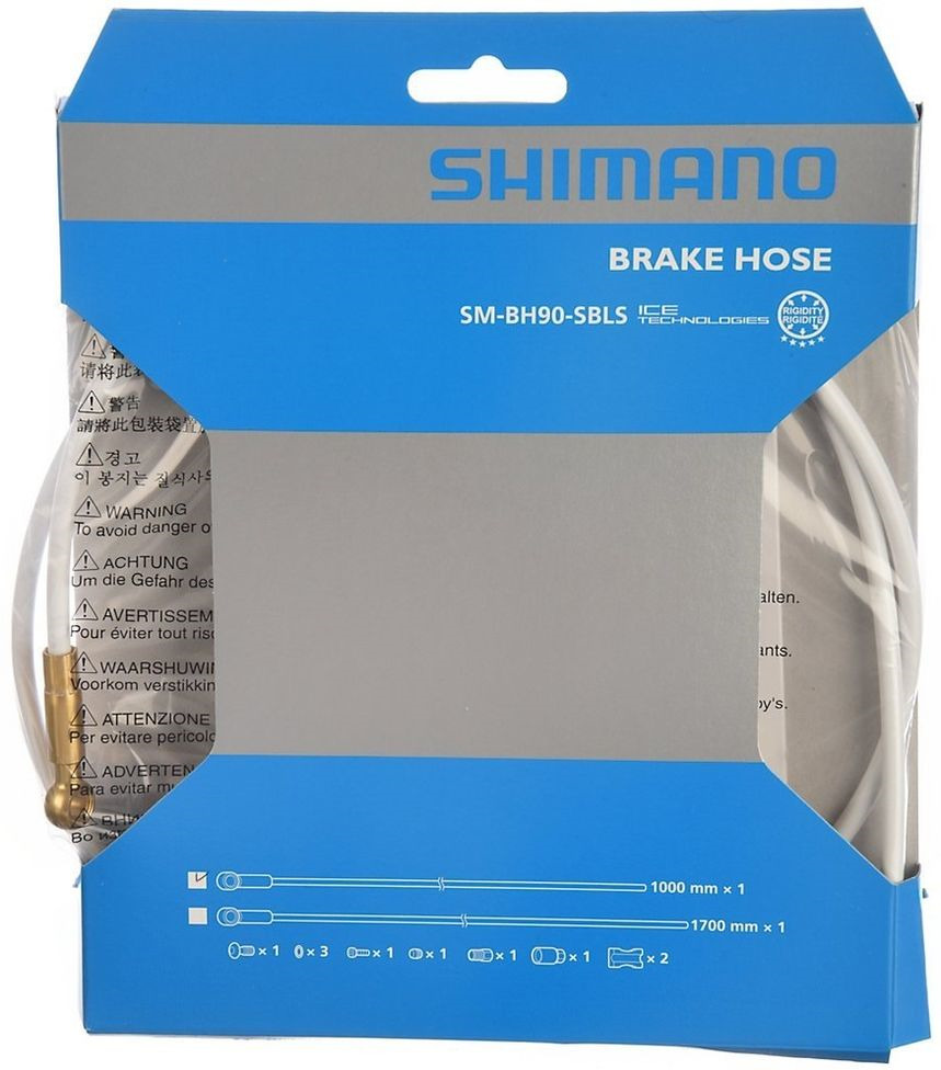 Гидролиния Shimano XTR, BH90-SBLS, 1700 мм, обрезной, TL-BH61, ISMBH90SBLSW170, белый комплект колес xtr m9000 tl f 15 r12мм e thru 29 c lock с lock ring арт ewhm9000lfere9x