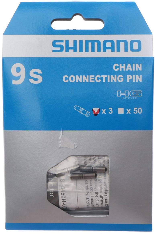 Запчасть к цепи Shimano, 9 скоростей, соединительный штифт, Y06998030, 3 шт запчасть shimano tiagra 4700 172 5 мм 52 36t