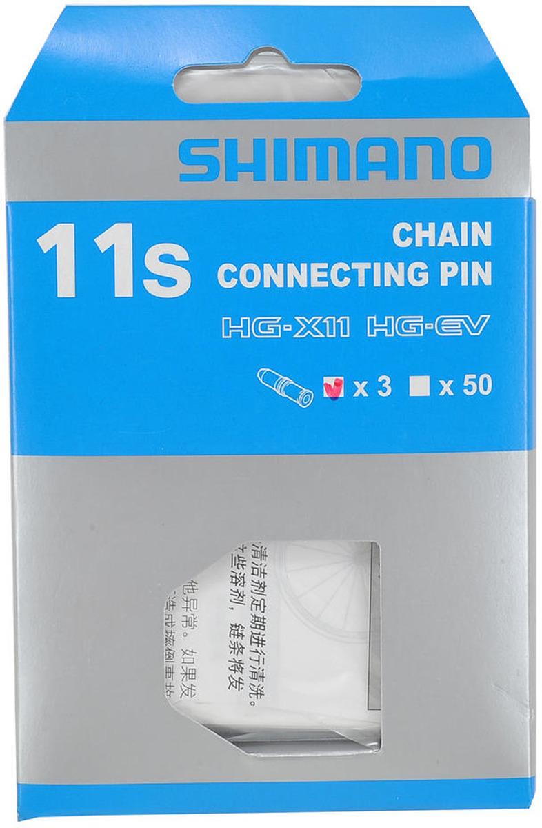 Запчасть к цепи Shimano CN9000, 11 скоростей, HG-EV, соединительный штифт, Y0AH98030, 3 шт запчасть shimano запчасти для планетарной втулки sg 3c41 asm3c41ncs020e