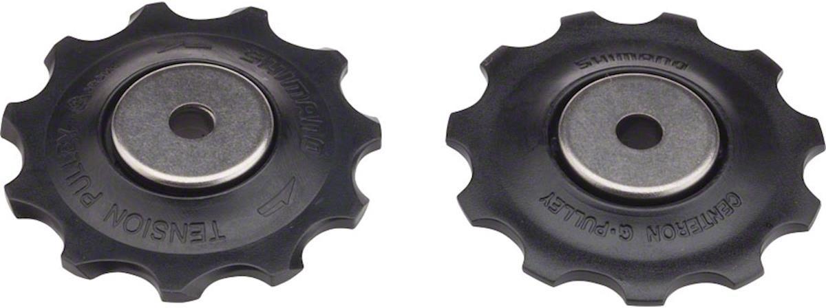 Ролики Shimano переключателя 10 скоростей, верхний + нижний, к RD-M663/M640/M670/M675, Y5XE98030 запчасть shimano slx m670 b i islm670bipa