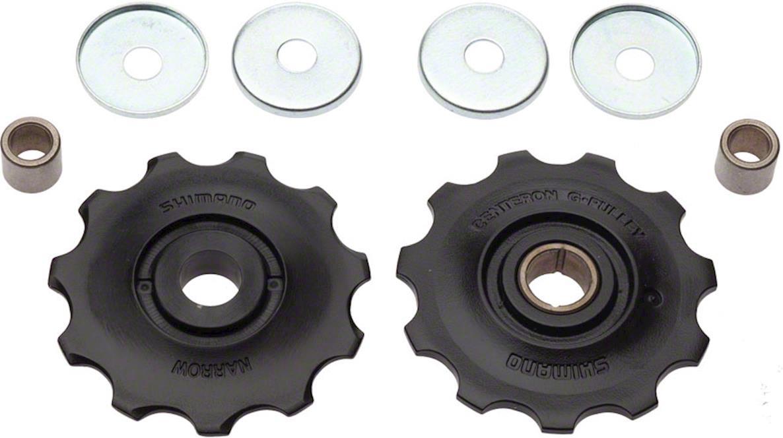 Ролики Shimano переключателя 9 скоростей, верхний + нижний, к RD-M390/M430/M4000, Y5XG98060 ролики игольчатые