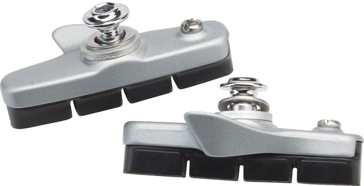 Тормозные колодки для велосипеда Shimano шоссейные, R55C4, для BR-5800, Y88T98040, серебристый, 2 шт тормозные колодки для велосипеда shimano для дискового тормоза m07ti пара пластик y8e598020