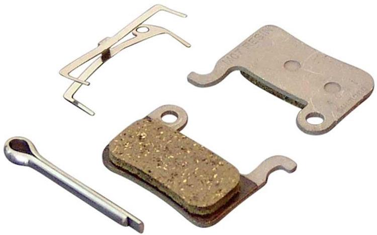 Тормозные колодки для велосипеда Shimano M07TI, пластиковые, для XTR/XT/SLX/DEORE, Y8E598020, 2 шт