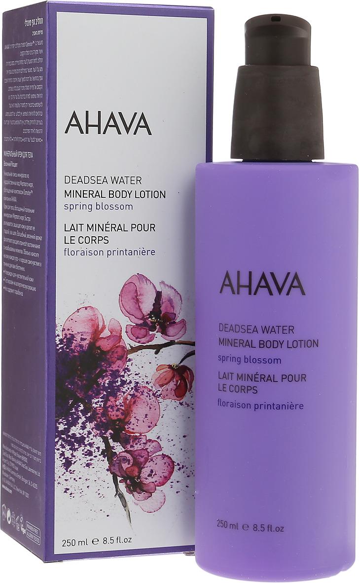 Минеральный крем для тела Ahava Deadsea Water, 250 мл ahava набор deadsea water крем для рук минеральный 100 мл крем для ног минеральный 100 мл