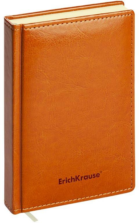 Ежедневник ErichKrause Nebraska, недатированный, A6+, 47932, коричневый, 168 листов ErichKrause