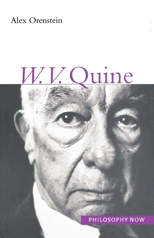 Alex Orenstein W. V. Quine w v quine elementary logic first edition