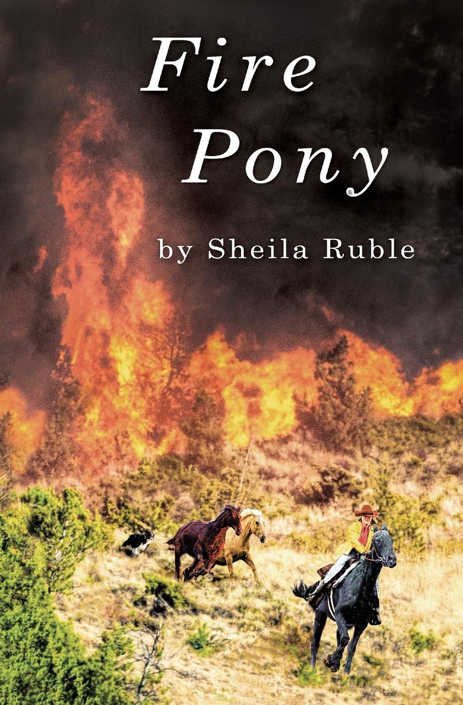 Фото - Sheila Ruble Fire Pony fold out horse and pony