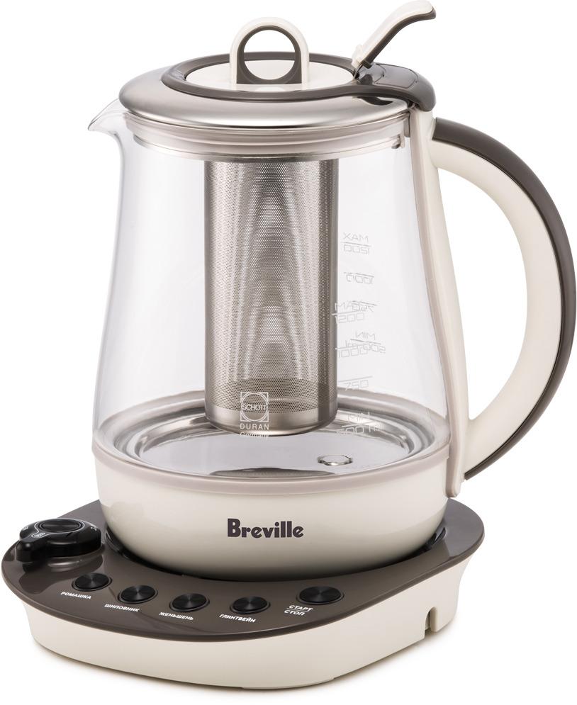 лучшая цена Электрический чайник Breville K361, бежевый