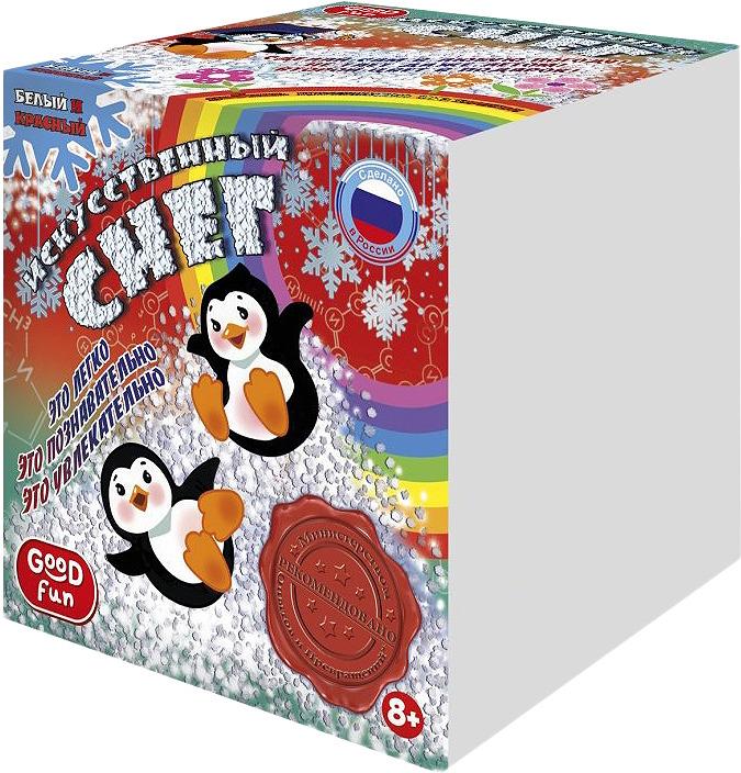 Набор для изготовления игрушек Good Hands Искусственный снег, Р96670, красный набор для опытов good fun искусственный снег большой набор gf008