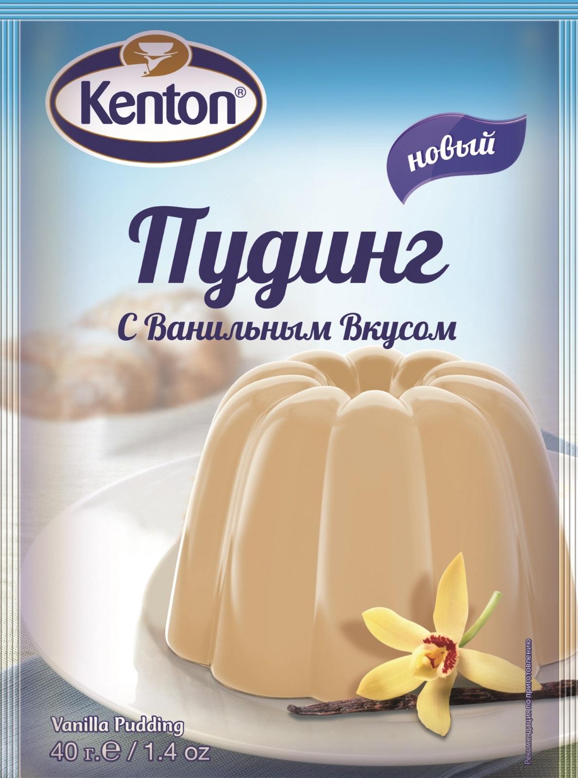 Смесь для выпечки KENTON пудинг с ванильным вкусом, 40 смесь для выпечки почти печенье матча шоколад кокос 370 г