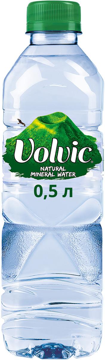 Volvic вода минеральная негазированная, 0,5 л