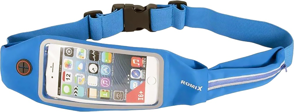 Чехол для сотового телефона Romix Touch Screen Waist Bag 4.7, синий original new 10 1 inch resistive touch screen four wire industrial 4 touch single chip 233 141