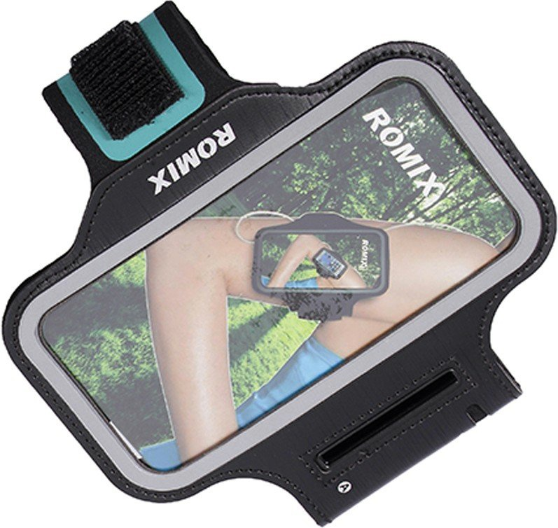 Чехол для сотового телефона Romix Arm belt 5.5, черный romix rh18 sports arm bag