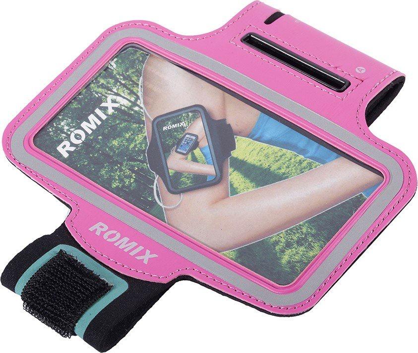 Чехол для сотового телефона Romix Arm belt 5.5, красный romix rh18 sports arm bag