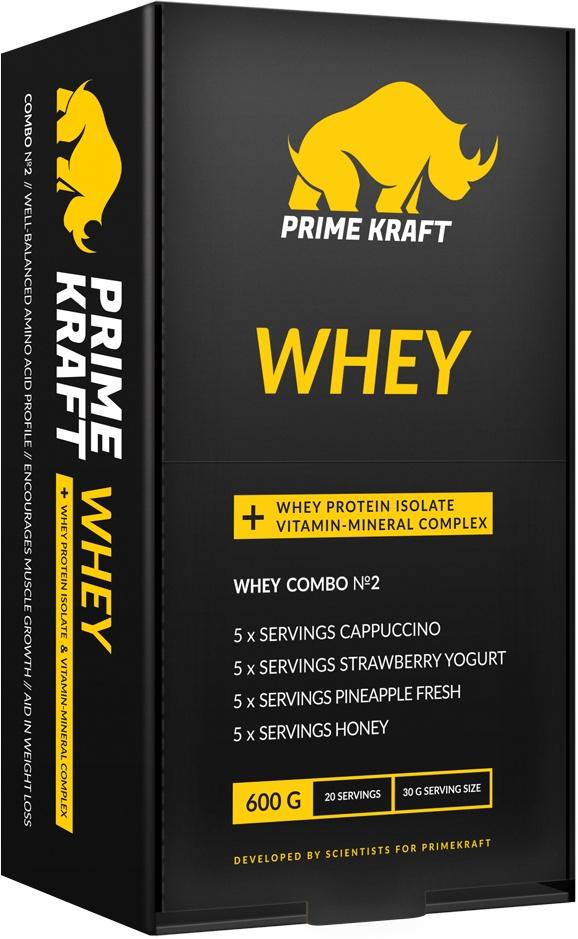 Набор спортивного питания Prime Kraft Whey Combo №2 multi whey