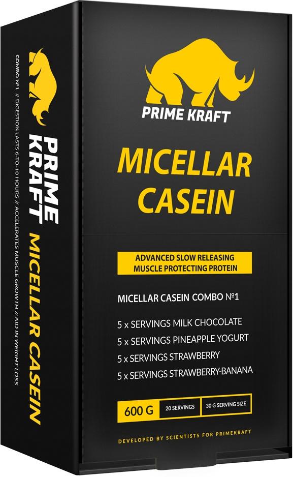 Набор спортивного питания Prime Kraft Micellar Casein Combo №1, 600