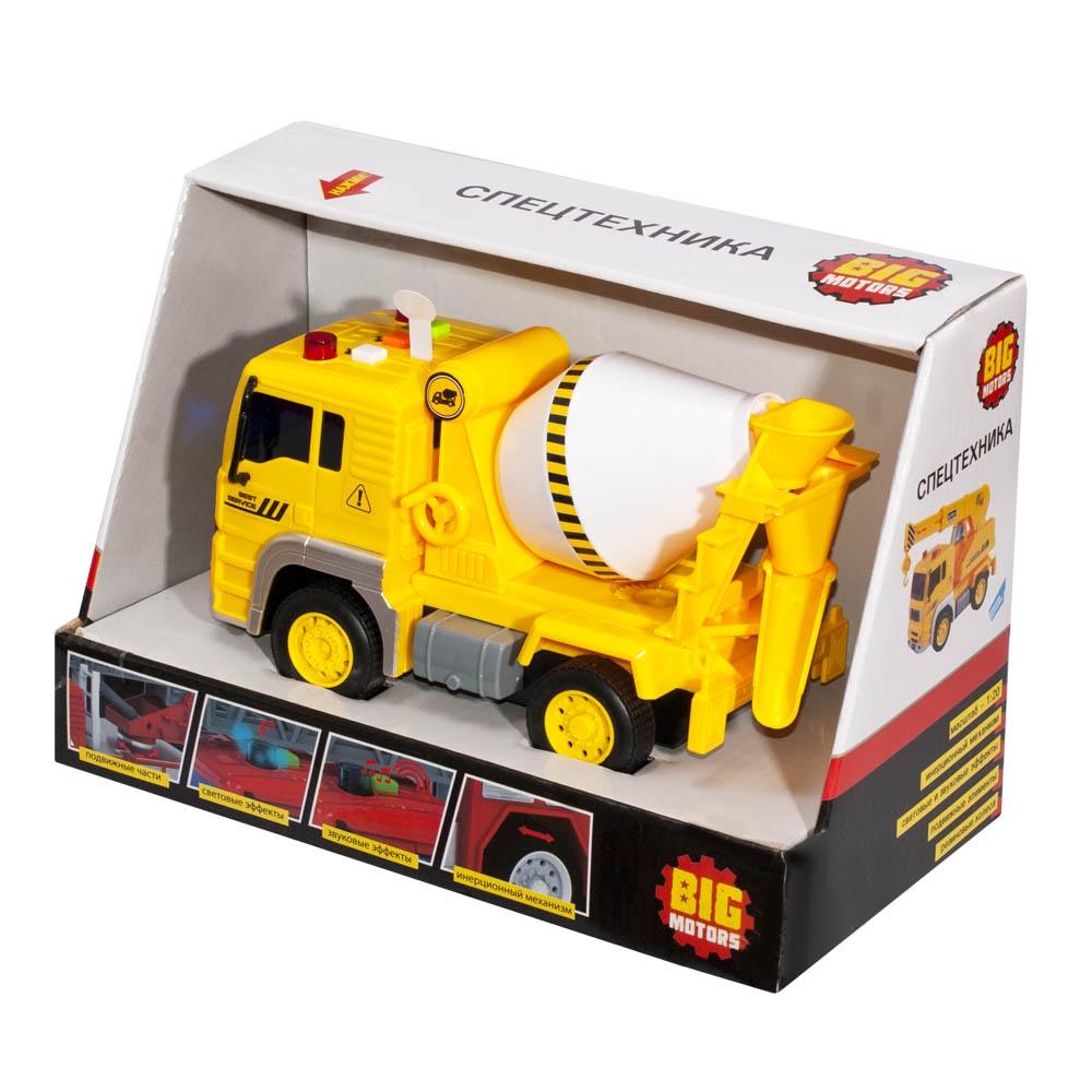 Машинка Big Motors WY510B желтый бетономешалка big motors бетономешалка желтый wy510b