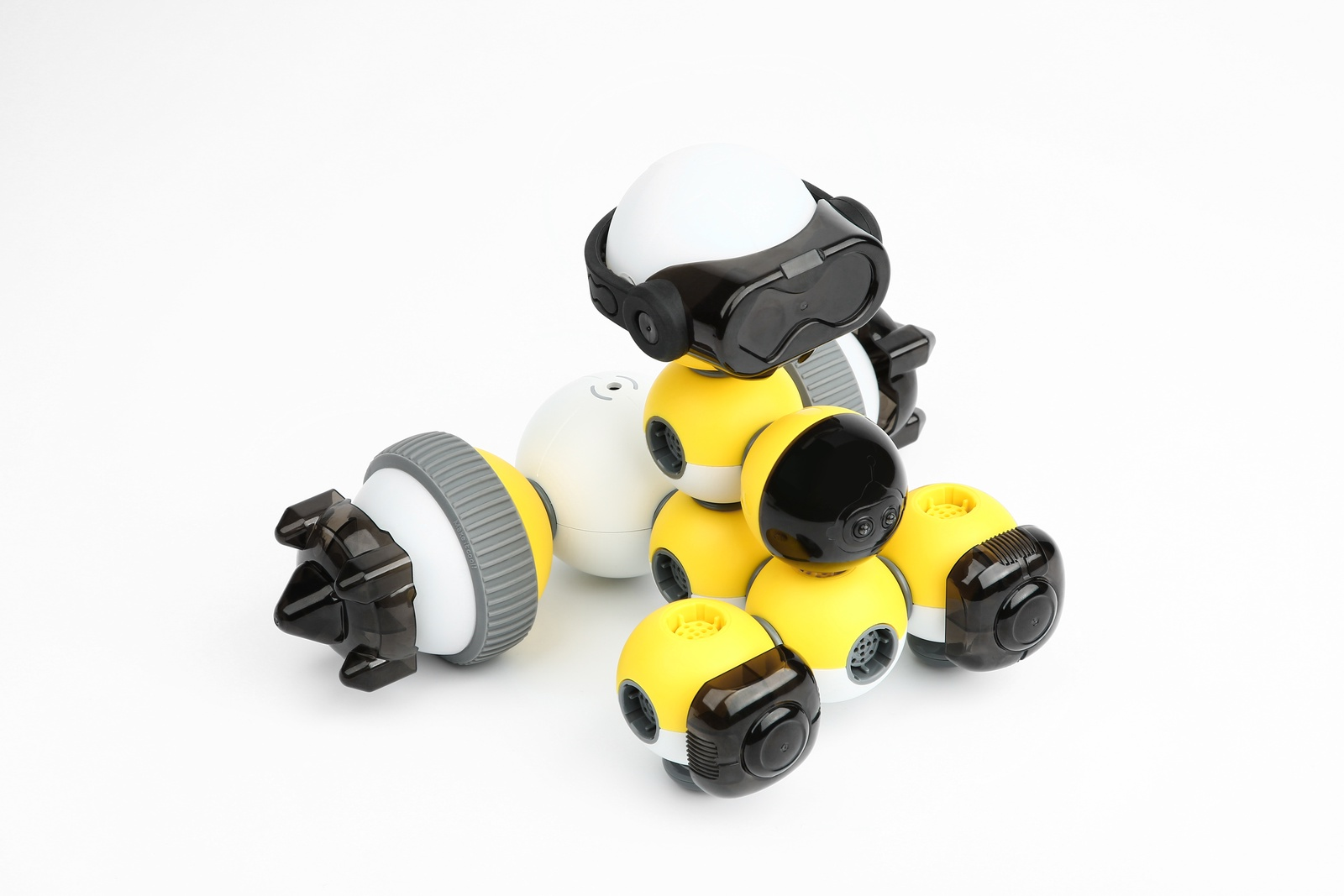 Программируемый робот Bell Robot Детский конструктор-робот Mabot B Бесконечные возможности и веселье!Потрясающая игрушка для STEAM...