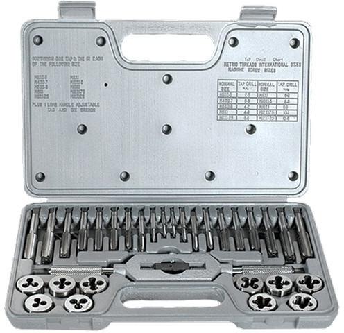 Набор метчиков и плашек Matrix, 77337, М3 - М12, 31 предмет