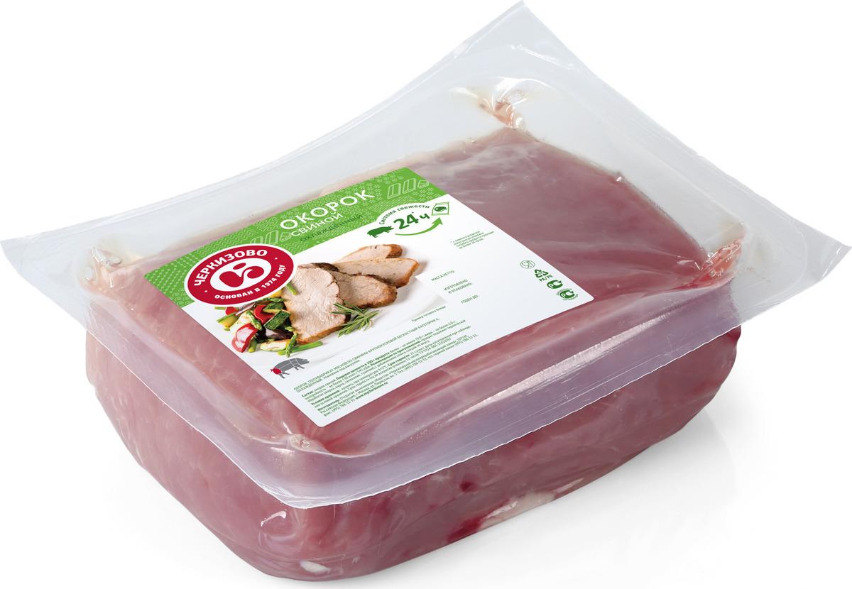 Свинина свежая Черкизово Окорок, без кости, охлажденная, 900 г