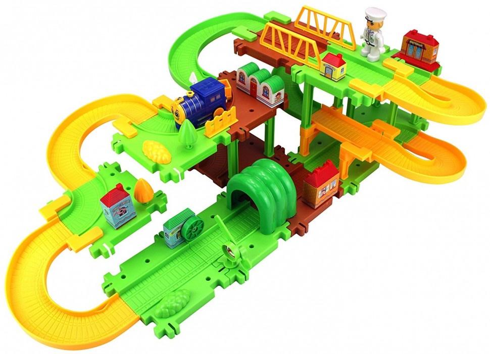 Железная дорога Happy Commander HC1512 автотрек умная дорога уд003 4603726949026