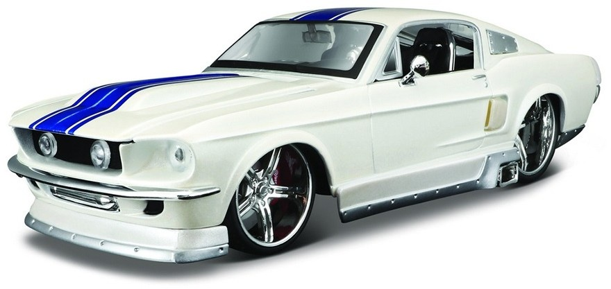 купить Машинка MAISTO Mustang GT 1967 белый по цене 1613 рублей
