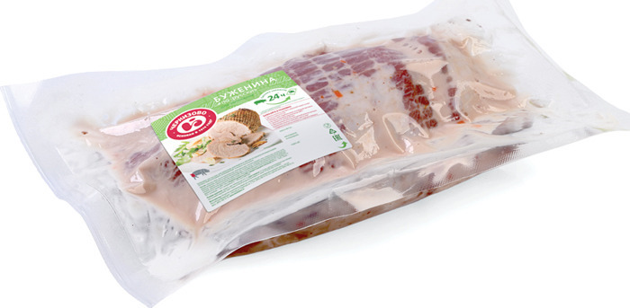 Свинина свежая Черкизово Буженина По-русски, для запекания, охлажденная, 1 кг Черкизово