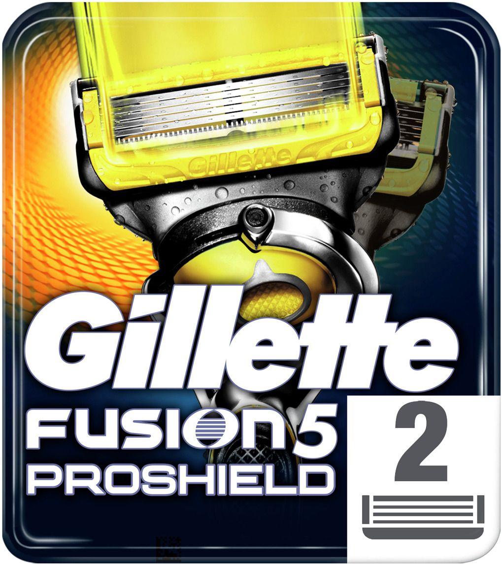 Сменные кассеты для бритв Gillette Fusion ProShield (2шт) Сменные лезвия