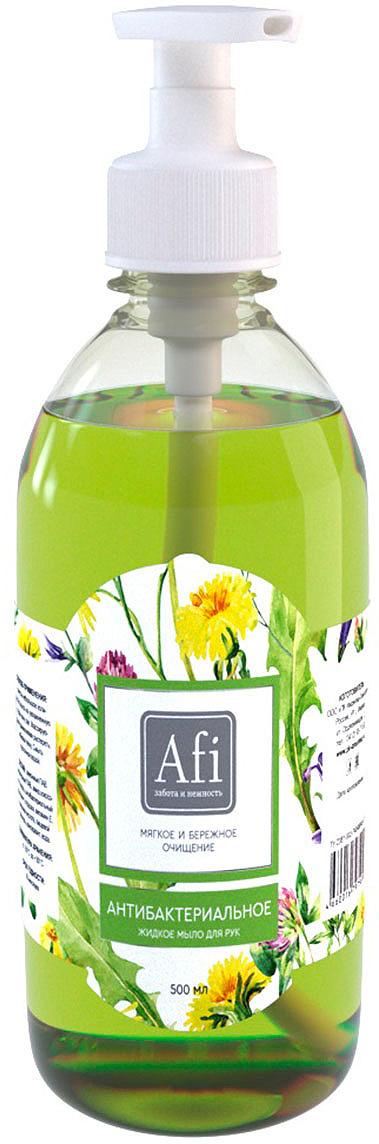 Фото - Жидкое мыло Afi Антибактериальный, 500 мл жидкое мыло lv 500 мл