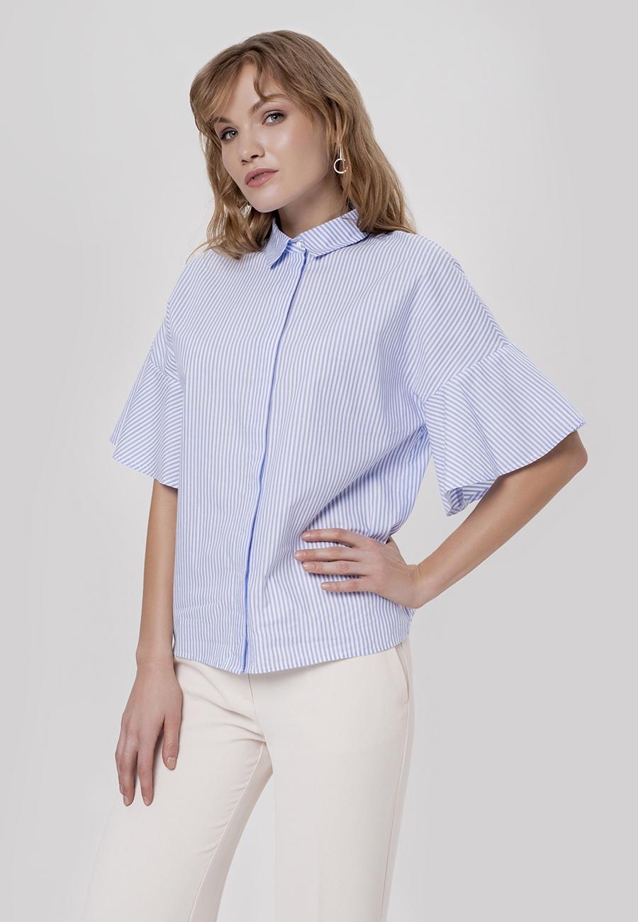 Блузка Valkiria пиджак с отложным воротником b young
