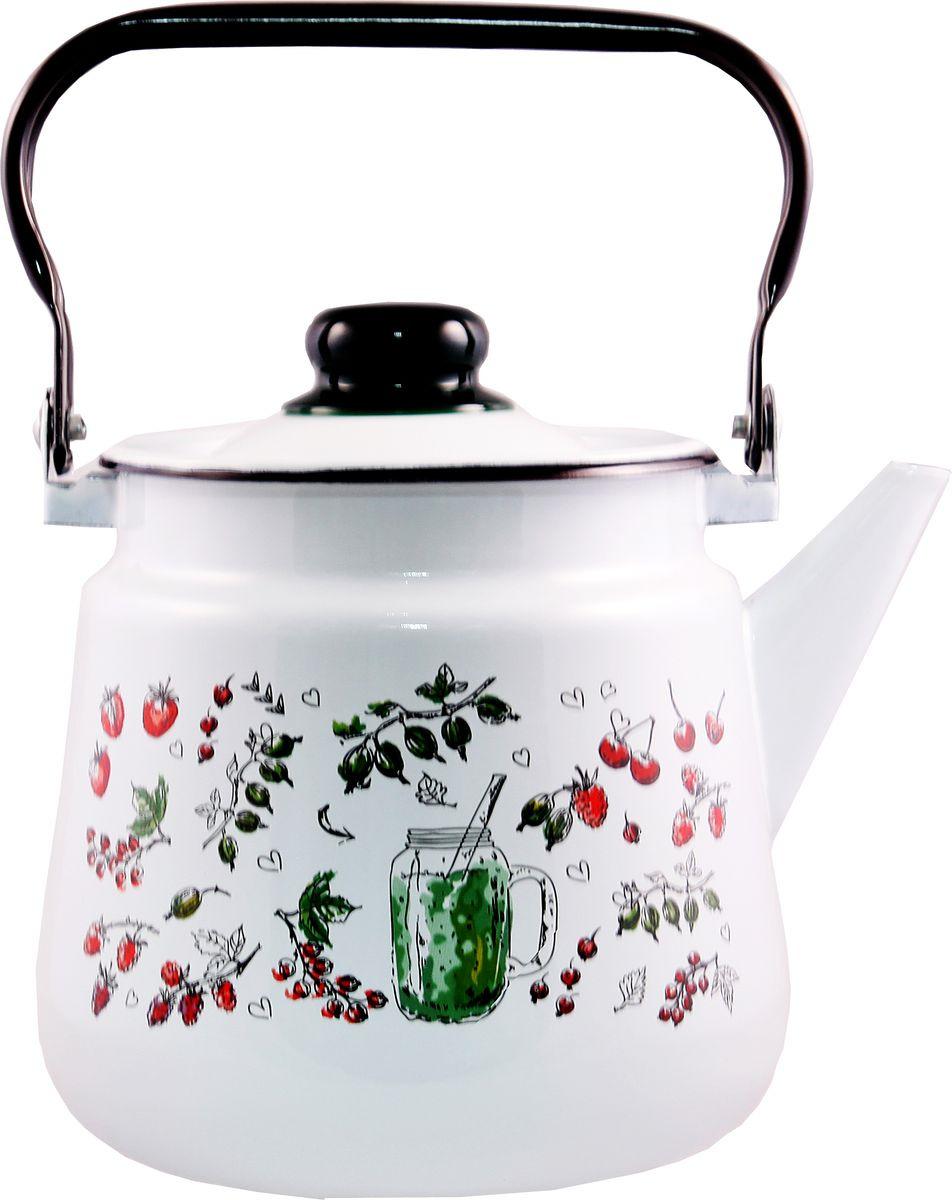 Чайник Appetite Compote, эмалерованный, 3,5 л
