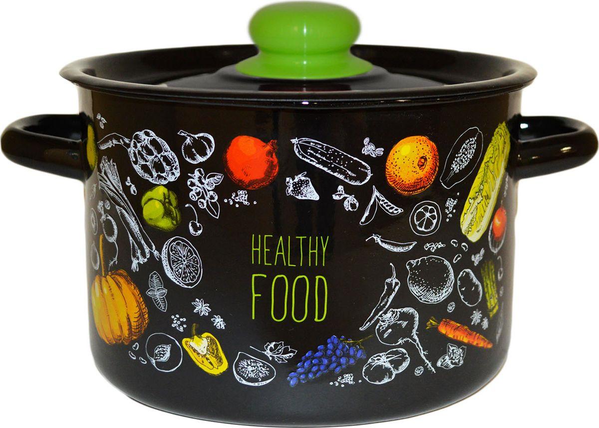 Кастрюля Appetite Healthy food, эмалерованная, 4,5 л