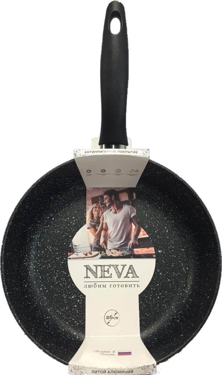 Сковорода Сковорода Нева металл посуда «NEVA», NG124, 24 см