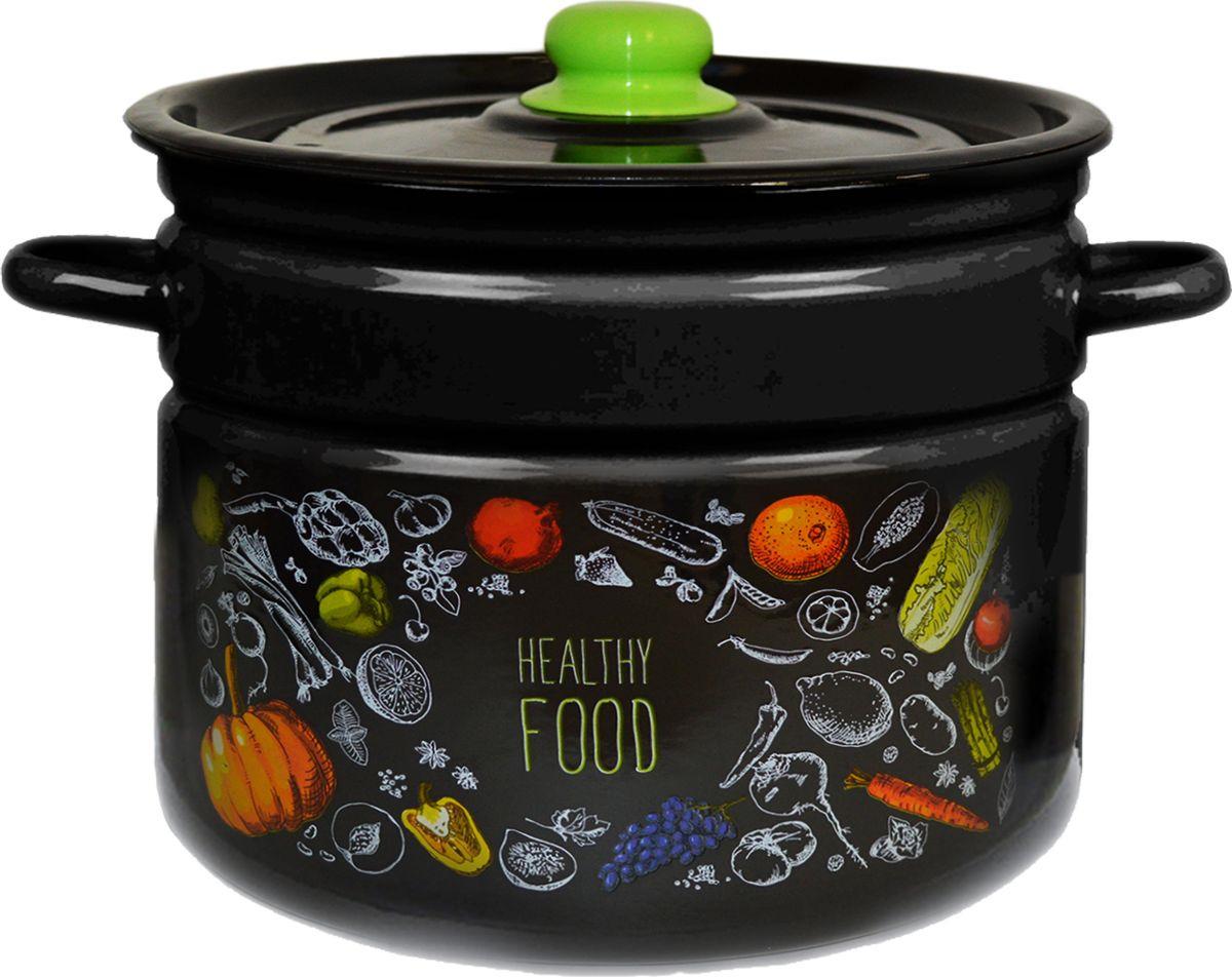 Кастрюля Appetite Healthy food, эмалерованная, 9 л