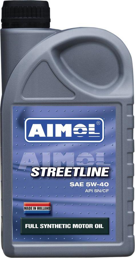 Моторное масло Aimol Streetline, синтетическое, 5W-40, 1 л