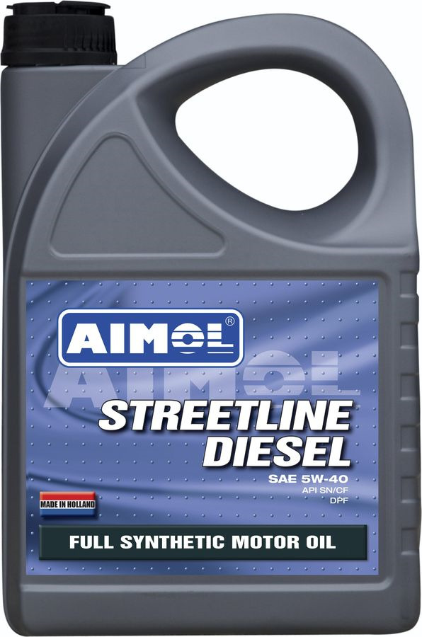 Моторное масло Aimol Streetline Diesel, синтетическое, 5W-40, 4 л