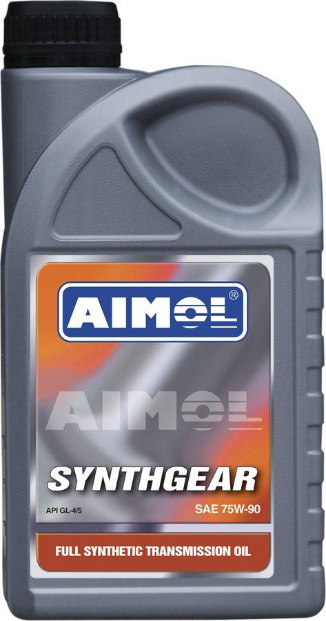 Трансмиссионное масло Aimol Supergear, синтетическое, 75W-90, 1 л цена