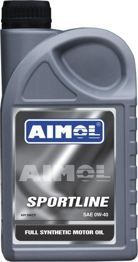Моторное масло Aimol Sportline, синтетическое, 0W-40, 1 л