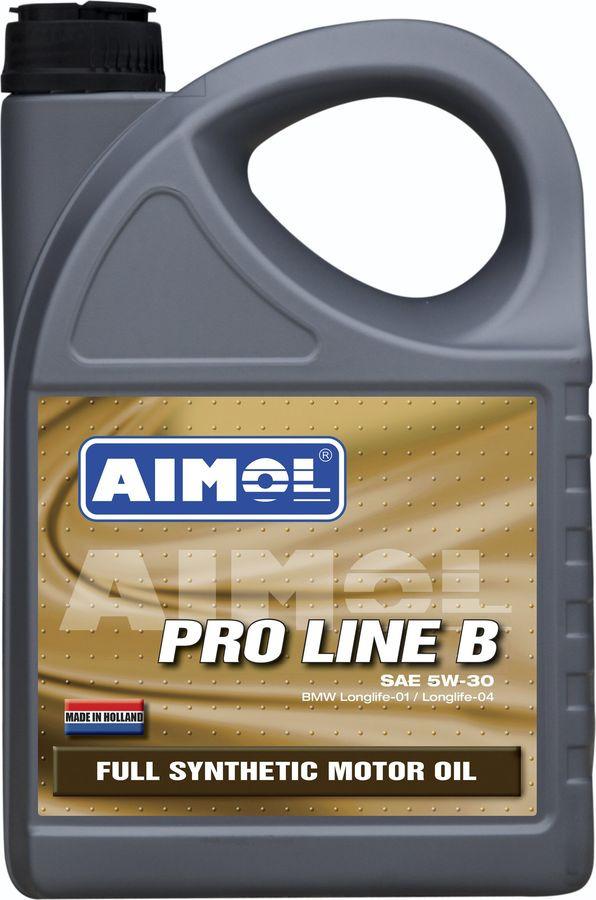 Моторное масло Aimol Pro Line B, синтетическое, 5W-30, 4 л gm pb044 b