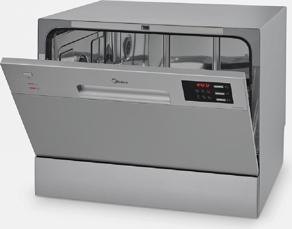 Посудомоечная машина Midea MCFD55320S, серебристый